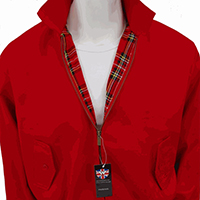 Harrington Jacket by Warrior Clothing- RED (Sale price!)