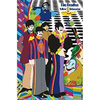 Beatles- Yellow Submarine Cartoon poster