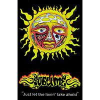 Sublime- Sun on a Velvet Blacklight Poster
