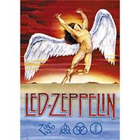 Led Zeppelin- Swan Song poster