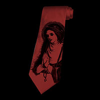 Saints & Sinners Tie by Se7en Deadly - in Red