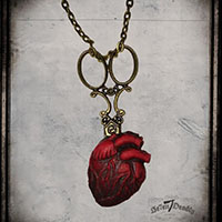 Be Still My Heart Necklace by Se7en Deadly