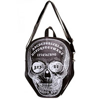 Power Trip Skull Ouija Small Shoulder Bag by Banned Apparel