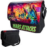 Mars Attacks Mega Messenger Bag by Kreepsville 666 - SALE