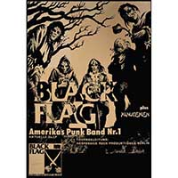 Black Flag German Show Poster - Fine Art Print by Annex