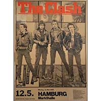 Clash London Calling - German Show Poster - Fine Art Print by Annex