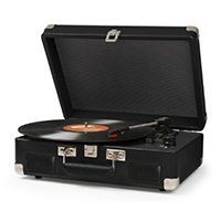 Cruiser II Battery Powered Turntable by Crosley- Black