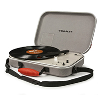 Messenger Turntable by Crosley- Grey (Sale price!)