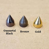 "2/5"" Cone Spike #2- Various Colors (7x9.5mm)"