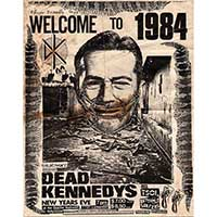 Dead Kennedys Show Poster - Fine Art Print by Annex