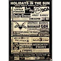 Holidays in the Sun German Show Poster - Fine Art Print by Annex