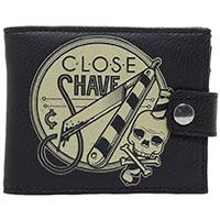 Kustom Kreeps Close Shave Wallet by Sourpuss - SALE
