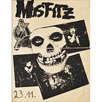 Misfits Mispelled German Show Poster - Misfitz Fine Art Print by Annex