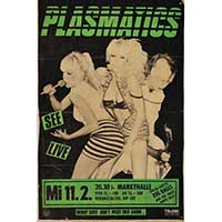 Plasmatics German Show Poster - Fine Art Print by Annex