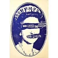 Sex Pistols God Save the Queen - Fine Art Print by Annex