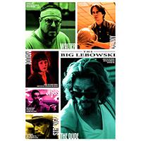 Big Lebowski- Collage poster (A9)
