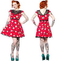 Holly Jolly Lyla Puppies Peekaboo Dress by Sourpuss - SALE
