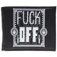 Fuck Off Billfold Wallet by Sourpuss