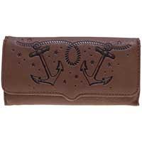 Anchors Triumph Wallet by Sourpuss - SALE