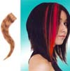 Human Hair Glam Strip by Manic Panic- Natural Blonde With Brown Savage Tiger Stripe - SALE