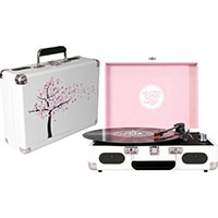Groove Portable Turntable by Vinyl Styl- Cherry Blossom (Sale price!)