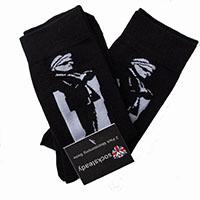 Socksteady 2 Pack Of Socks by Warrior Clothing- Ska Man