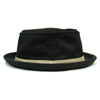 Cotton Stingy Hat In BLACK by New York Hat Co.