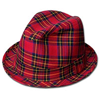 Tartan Plaid Rexy Hat (3 plaids!) (Sale price!)