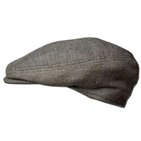 Plaid Linen 1900 Hat by NY Hat Co.