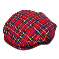 Tartan Plaid Ivy Hat by New York Hat Co. (Sale price!)