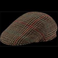 Woolrich Plaid Pub Hat (85% Wool) by New York Hat Co. (Sale price!)