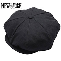 Wool Flannel Newsboy Hat by New York Hat Co. (Sale price!)