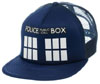 Doctor Who- Tardis on a navy trucker hat