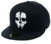 Call Of Duty- Ghost Skull on a black baseball hat (Sale price!)