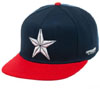 Captain America- Star on a navy/red snapback hat (Sale price!)