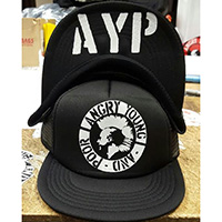 Angry Young & Poor trucker hat by Western Evil