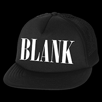 Blank Generation trucker hat by Western Evil