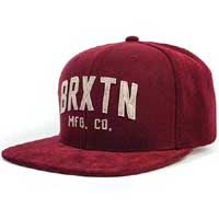 Arden Snap Back Hat by Brixton- BURGUNDY (Sale price!)