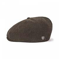 Brood Hat by Brixton- Brown/Dark Cream