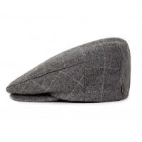 Hooligan Hat by Brixton- GREY PLAID (Sale price!)