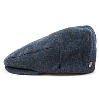Hooligan Hat by Brixton- Navy/Green (Sale price!)