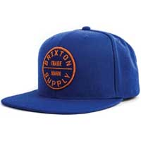 Oath Snap Back Hat by Brixton- ROYAL (Sale price!)
