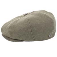 Brood Hat by Brixton- Grey Twill (Sale price!)