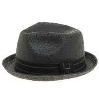 Castor Straw Hat by Brixton- Black