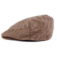 Hooligan Hat by Brixton- Brown/Gold Tweed (Sale price!)
