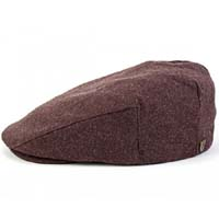 Hooligan Hat by Brixton- Brown Wool (Sale price!)