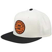 Oath Snap Back Hat by Brixton- OFF WHITE (Sale price!)
