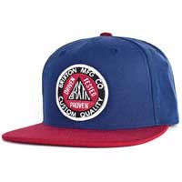 Pledge Snap Back Hat by Brixton- ROYAL / RED (Sale price!)