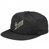 Wilson Snap Back Hat by Brixton- BLACK (Sale price!)