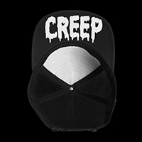 Creep trucker hat by Western Evil